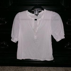 Women's white blouse- NWOT